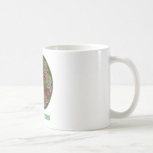 Sanders Celtic Knot Classic White Coffee Mug