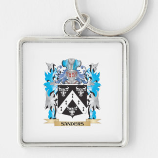 Sanders Coat of Arms - Family Crest Key Chain