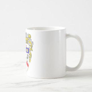 Sanders Coat of Arms (Mantled) Coffee Mugs