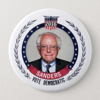 Sanders: Democrat for President Pinback Button