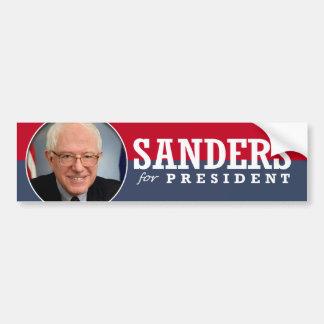Sanders for President Car Bumper Sticker
