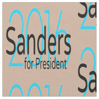 Sanders For President in 2016 Fabric