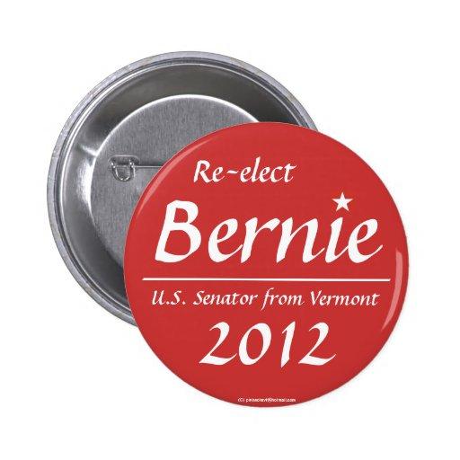 Sanders for Senate 2012 Button