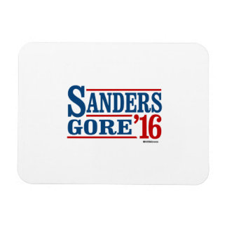 Sanders Gore 2016 Rectangular Photo Magnet