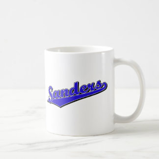 Sanders in Blue Mug