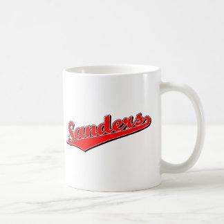 Sanders in Red Coffee Mug