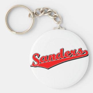 Sanders in Red Key Chain
