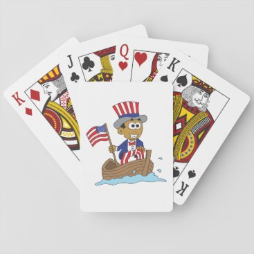 Sanders playing cards