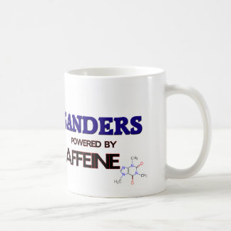 Sanders powered by caffeine mug