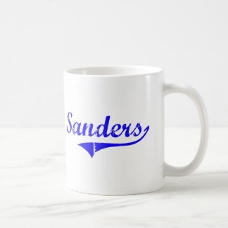 Sanders Surname Classic Style Coffee Mug