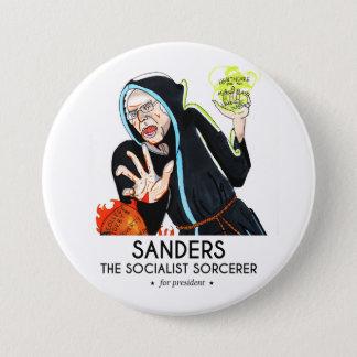 Sanders The Sorcerer Pinback Button