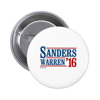 Sanders Warren 2016 Button
