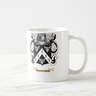Sanderson Coat of Arms (Family Crest) Coffee Mugs