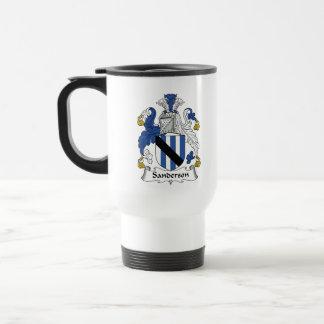 Sanderson Family Crest Coffee Mugs