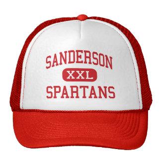 Sanderson - Spartans - High - Raleigh Mesh Hat