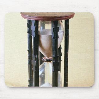 Sandglass, 17th century mouse pad