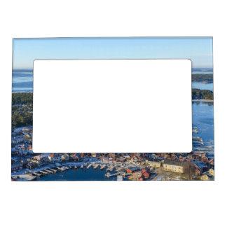 Sandhamn, archipiélago de Estocolmo, Suecia Marcos Magnéticos Para Fotos