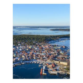 Sandhamn, archipiélago de Estocolmo, Suecia Postal
