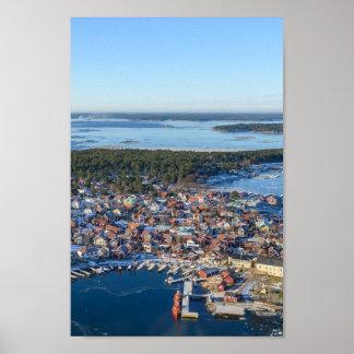 Sandhamn, archipiélago de Estocolmo, Suecia Póster