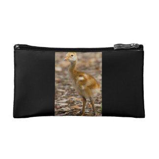 Sandhill Crane Baby Cosmetic Bag
