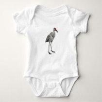 Sandhill Crane Baby Bodysuit