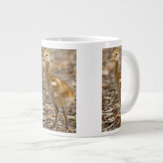 Sandhill Crane Baby Giant Coffee Mug