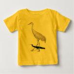 Sandhill Crane Baby T-shirts
