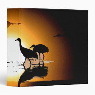 Sandhill Crane Birds Animals Wildlife Sun Binder