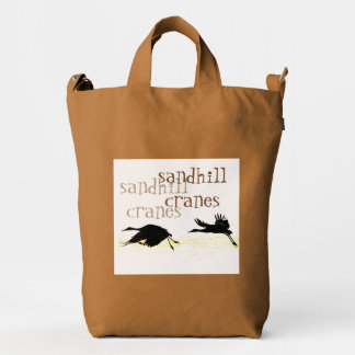 Sandhill Crane Birds Wildlife Animals Baggu Bag