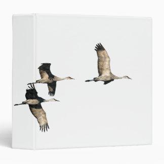 Sandhill Crane Birds Wildlife Animals Binder