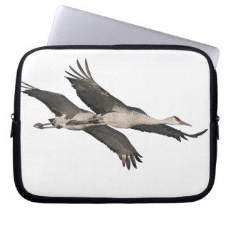 Sandhill Crane Birds Wildlife Animals Computer Sleeve