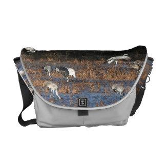 Sandhill Crane Birds Wildlife Animals Courier Bag