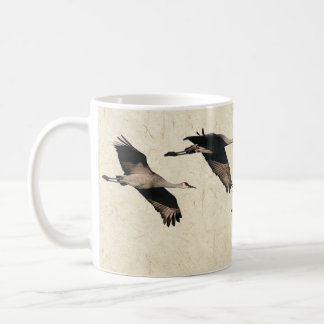Sandhill Crane Birds Wildlife Animals Flying Mug