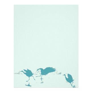 Sandhill Crane Birds Wildlife Animals Letterhead