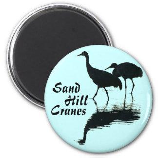 Sandhill Crane Birds Wildlife Animals Magnet