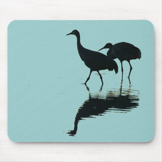 Sandhill Crane Birds Wildlife Animals Mouse Pad