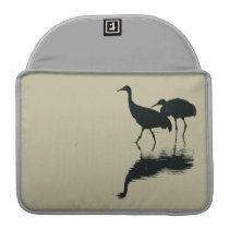 Sandhill Crane Birds Wildlife Animals Photography Sleeve For MacBook Pro