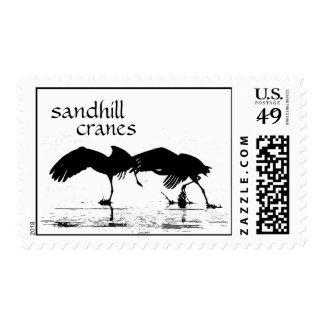 Sandhill Crane Birds Wildlife Animals Postage