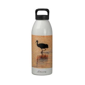 Sandhill Crane, Bosque del Apache Reusable Water Bottles