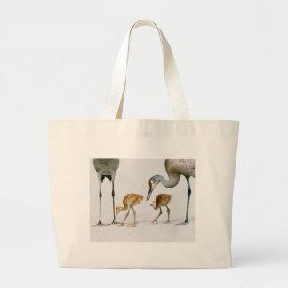 Sandhill Crane Famiy bag