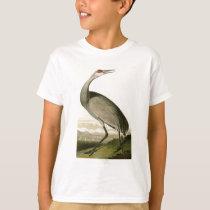 Sandhill Crane John James Audubon Birds of America T-Shirt