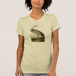 Sandhill Crane John James Audubon Birds of America T Shirts
