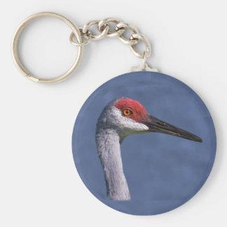 Sandhill Crane Lovely Lady KeychainWho can resist Keychain