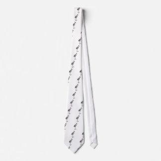 Sandhill Crane Neck Tie