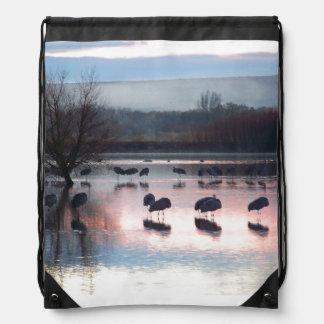 Sandhill Cranes Birds Backpack
