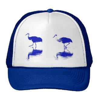 Sandhill Cranes Cap Mesh Hat
