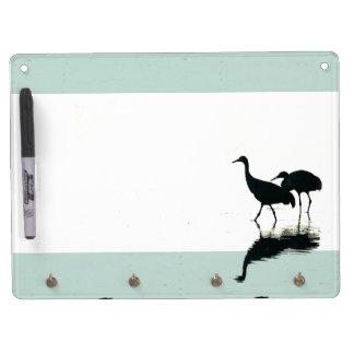Sandhill Cranes Dry Erase Board