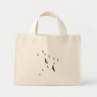 Sandhill Cranes in flight bag