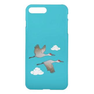 Sandhill Cranes in Flight iPhone 8 Plus/7 Plus Case