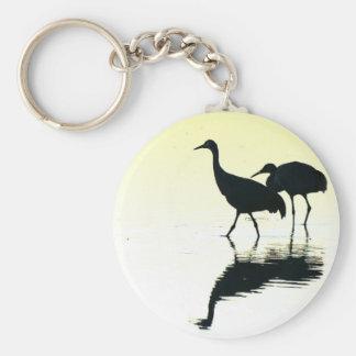 Sandhill Cranes Key Chain